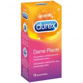 12 Durex Dame Placer