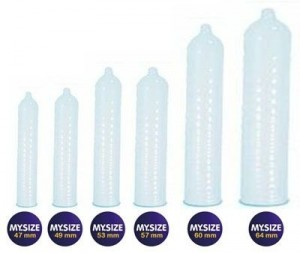 medidas condones mysize