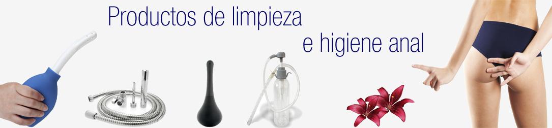 Productos para higiene anal