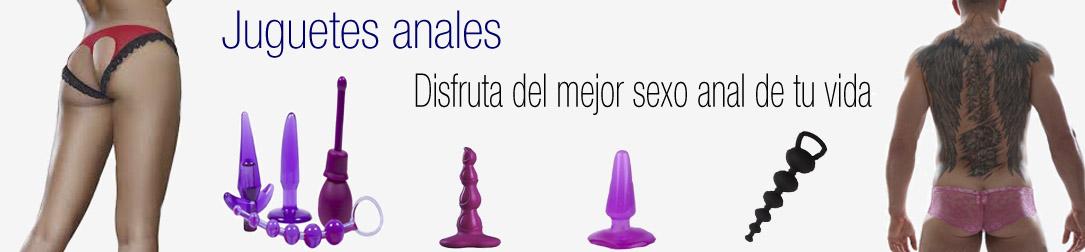 Juguetes para sexo anal