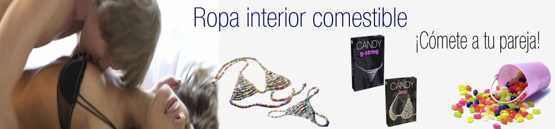 Ropa interior comestible