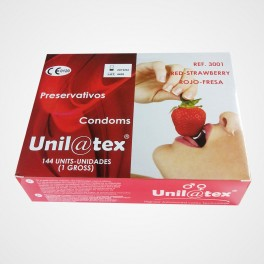 Unilatex Rojo (Fresa) 144