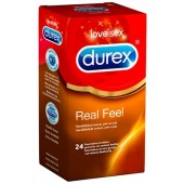 24 Durex Real Feel